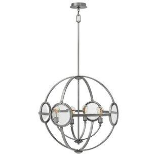 Brayden Studio Propes 4-Light Globe Chandelier