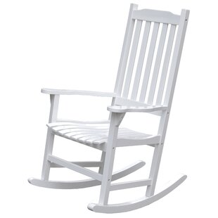 Swinton Wooden Indoor/Outdoor Rocking Chair