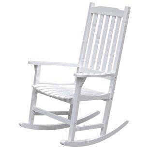 Swinton Wooden Indoor/Outdoor Rocking Chair