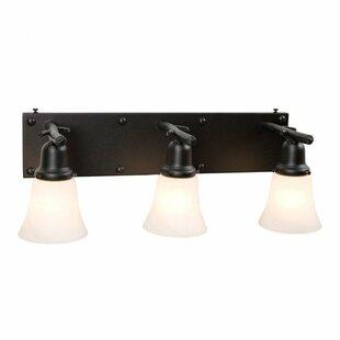Steel Partners Rivets 3-Light Vanity Light