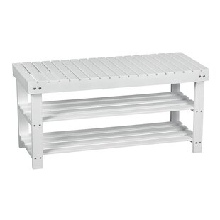 Adler 3 Tier Shoe Bench By Beachcrest Home