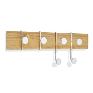 Strokes And Dots Wall Mounted Coat Rack By Pieperconcept