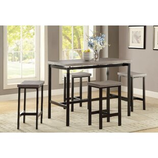 Mccreery 5 Piece Counter Height Dining Set Williston Forge