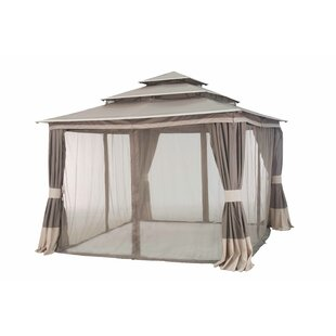 Tierney 12 Ft. W x 12 Ft. D Metal Patio Gazebo by Sunjoy
