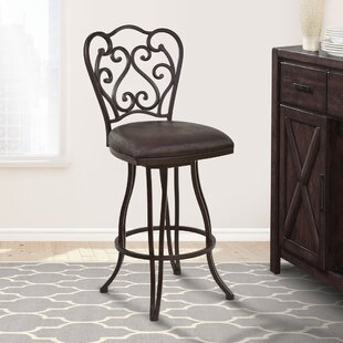 Margie 30 Swivel Bar Stool Fleur De Lis Living