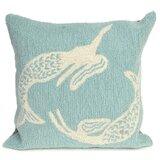 Marshtown Mermaids Indoor/Outdoor Throw Pillow