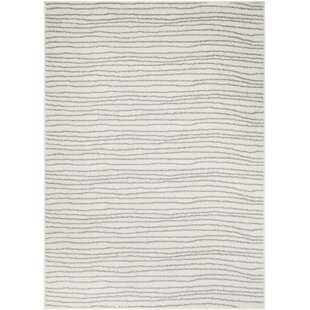 Dartmouth Gray/White Area Rug By Orren Ellis