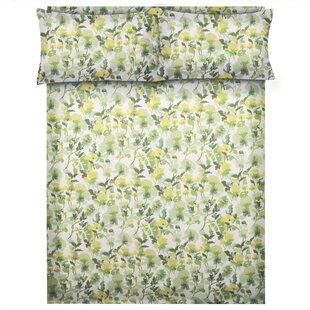 Powers 144 Thread Count Floral/Flower 100% Cotton Sheet Set