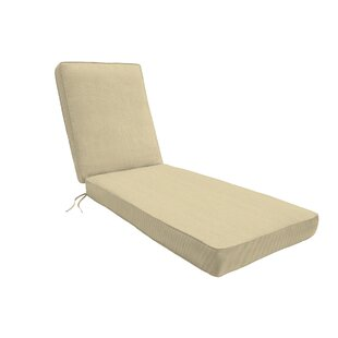 Indoor/Outdoor Sunbrella Chaise Lounge Cushion