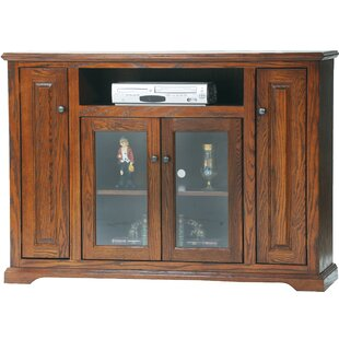 Boarstall Solid Wood Corner TV Stand For TVs Up To 65