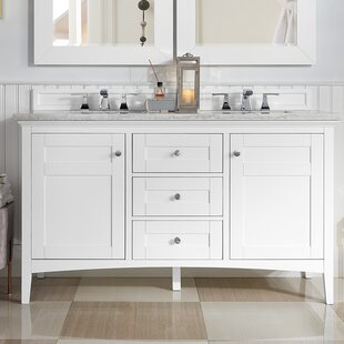 Lineberry 59 Double Bathroom Vanity Set by Rosecliff Heights