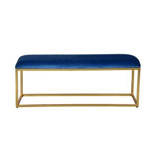 Everly Quinn Ledbury Upholstered Bench