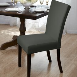 Customers Also ViewedRed Barrel Studio Dining Room Chair Slipcover   Reviews   Wayfair. Dining Room Chair Slipcovers. Home Design Ideas