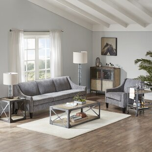 Laurel Foundry Modern Farmhouse Purgatoire Valley 3 Piece Coffee Table Set