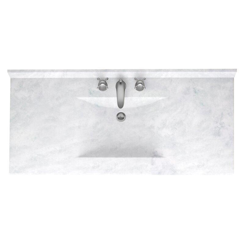 Contour 43 Single Bathroom Vanity Top