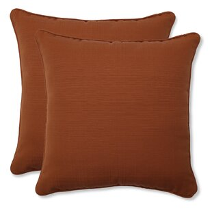 Cinnabar Corded Indoor/Outdoor Throw Pillow (Set of 2)