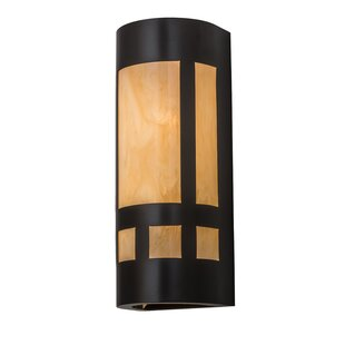 Top Allia 2-Light Outdoor Flush Mount By Bloomsbury Market