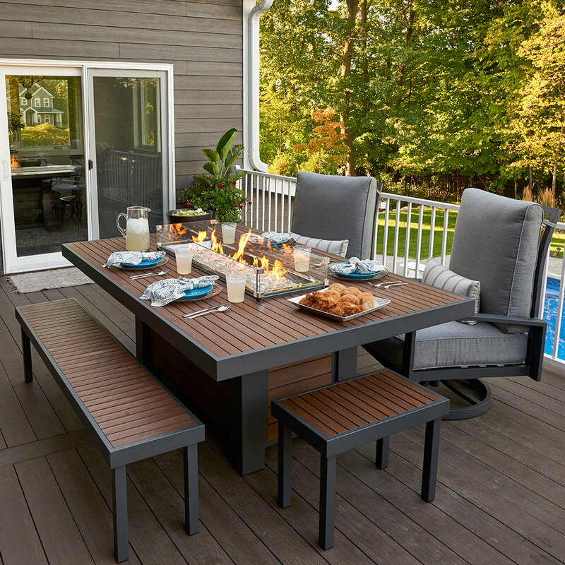 The Outdoor Greatroom Company Kenwood Composite Propane Natural