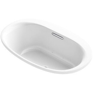 Kohler Underscore Oval Drop-in VibrAcoustic Bath with Bask™ Heated Surface