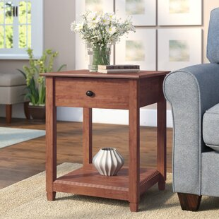 Lamantia End Table with St..