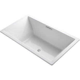 Underscore 72 x 42 Soaking Bathtub by Kohler