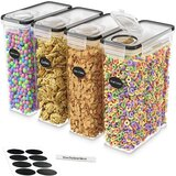 Cereal Airtight 4 Container Food Storage Set (Set of 4)