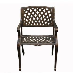 Micro Mesh Patio Chairs Wayfair Ca