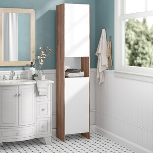 38.2 X 180cm Free Standing Tall Bathroom Cabinet By Mercury Row