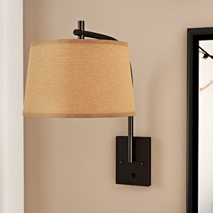 Russell 1-Light Armed Sconce By Wrought Studio Wall Lights