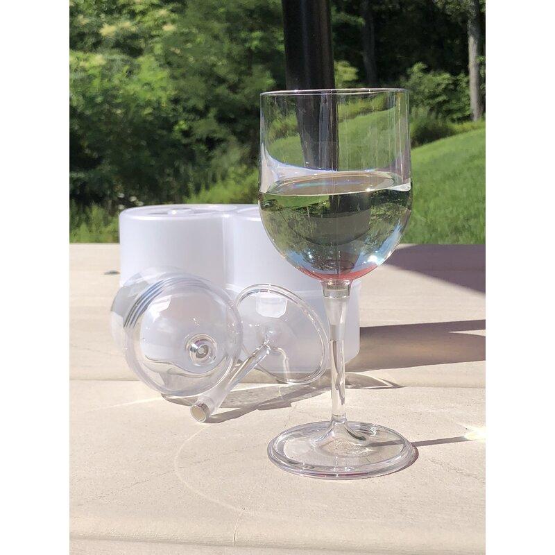 Symple Stuff Trumble 12 Oz Plastic All Purpose Wine Glass Reviews Wayfair
