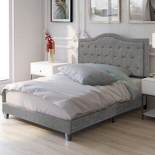 Holmesfield Tufted Low Profile Platform Bed by Red Barrel Studio