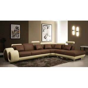 Melrose Reclining Sectional  sc 1 st  Wayfair : leather sectional with chaise and recliner - islam-shia.org