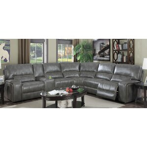 Skyler Reversible Reclining Sectional by E-Motion Furniture