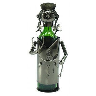 Nurse 1 Bottle Tabletop Wine Rack by Wine..