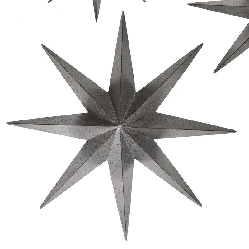 Millwood Pines Bouie Metal Star Wall