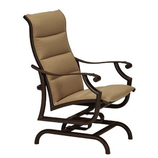 Montreux II Padded Sling Action Patio Chair by Tropitone #1