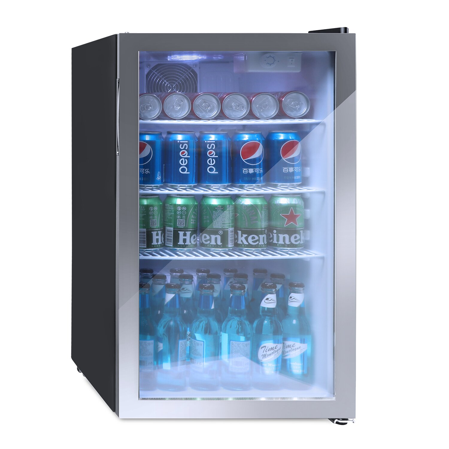 Single Zone 26 Bottle Freestanding Wine & Beverage Refrigerator