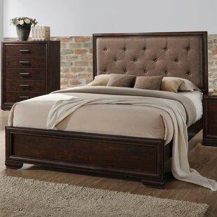 Gracie Oaks Westra Upholstered Panel Bed