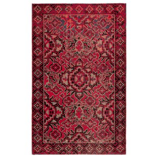 Jamil Medallion Red Indoor/Outdoor Rug By Blue Elephant