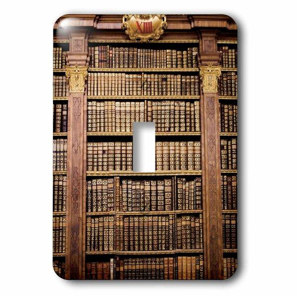 3drose Austria Melk Monastery Melk Abbey Library Books 1 Gang Toggle Light Switch Wall Plate Wayfair