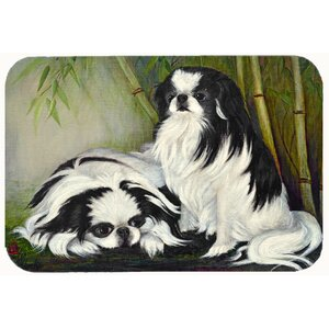 Japanese Chin Bamboo Garden Kitchen/Bath Mat