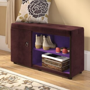 Find for Argent Shoe Storage Bench By Andover Mills
