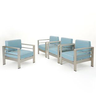Wade Logan Berryville Patio Chair (Set of..