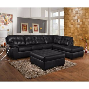 Gafford Grand Leather Sectional