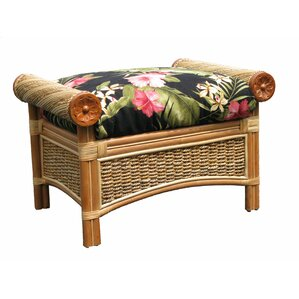 Maui Twist Ottoman by Spice Islands Wicker