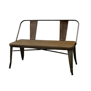 Williston Forge Faust Metal Bench