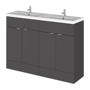 Maddalena 1205mm Free-standing Double Vanity Unit By Belfry Bathroom