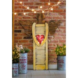 Shutter Angel Decorative Accent