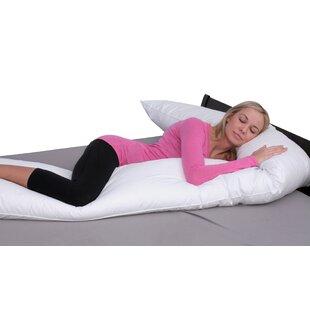 Deluxe Comfort Medium Down Alternative Body Pillow ByDeluxe Comfort