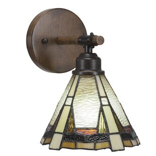 Pujari 1-Light Armed Sconce by Loon Peak